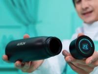 Auron自洁净水智能瓶消除了99.9%的细菌