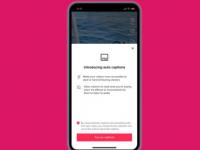TikTok获得自动字幕Instagram的一项功能已在忙于复制