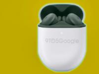 谷歌oopsie揭晓即将面世的PixelBudsA看起来像绿色阴影