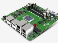 新蓝宝石AMD锐龙嵌入式V2000处理器主板亮相