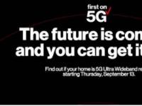 Verizon5GHome将于下个月推出将在部分城市推出