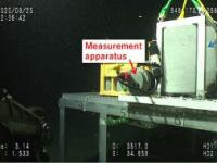深海硬化水泥砂浆力学性能的首次现场测量