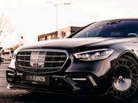 Brabus将梅赛德斯奔驰S级轿车改造成500马力的超级轿车