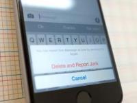 如何在iOS8点3上将iMessage过滤为垃圾邮件并将其报告