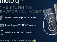 摩托罗拉MotoG60和MotoG40将于4月20日发布
