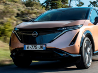 2022日产Ariya全电动crossover首次公开露面