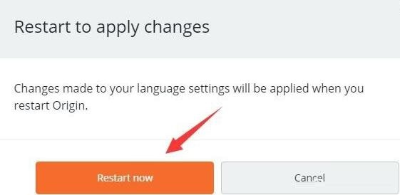 origin平台界面语言由英文改为中文的方法