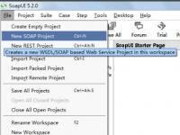 教程资讯:使用SoapUI怎么生成WSDL SoapUI使用教程