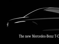 全新梅赛德斯奔驰T级确认小型厢式货车即将问世