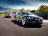 看两个特斯拉在中国的路怒ModelXRams拦下Model S
