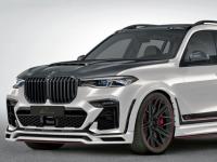 BMWX7受到LummaDesign的宽体治疗