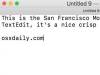 如何在Mac和其他应用程序上安装和使用SF Mono字体