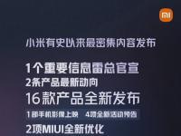 前沿资讯:今晚8点!小米直面会有16款新品、重磅信息雷军亲自官宣-ITBEAR科技资讯