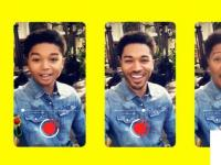 Snapchat的时光机镜头可以让你在年轻人和老年人之间切换