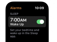 苹果引用了未发布的Apple Watch睡眠应用程序