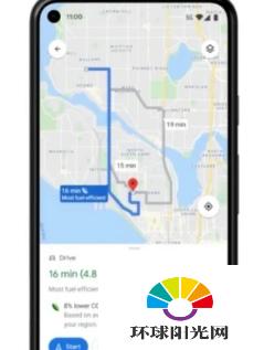 谷歌地图正在为环保功能做好准备
